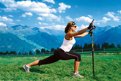 NORDIC WALKING E STRETCHING